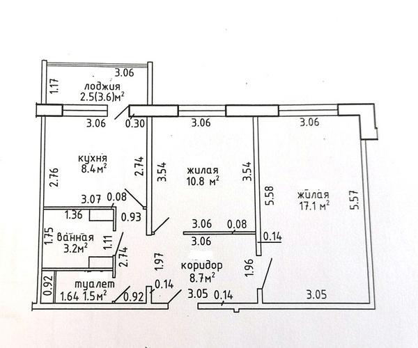 а.г. Лесной Продается доля (комната) в двухкомнатной квартире аг Лесной Минского района