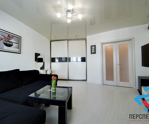 Продаётся 1-комнатная квартира в новом доме с ремонтом и мебелью!